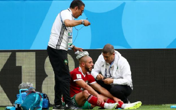 Nordin Amrabat's Head Injury Not Concerning, Says Medical Staff