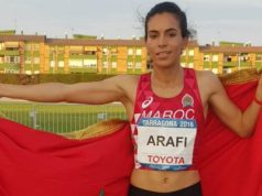 Spain: Moroccan Athlete Rababe Arafi Wins Gold in 800 Meter