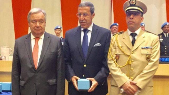 UN Honors 7 Fallen Moroccan Peacekeepers with Dag Hammarskjold Medal