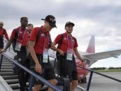 Atlas Lions Arrives in Kaliningrad Ahead of Spain Clash
