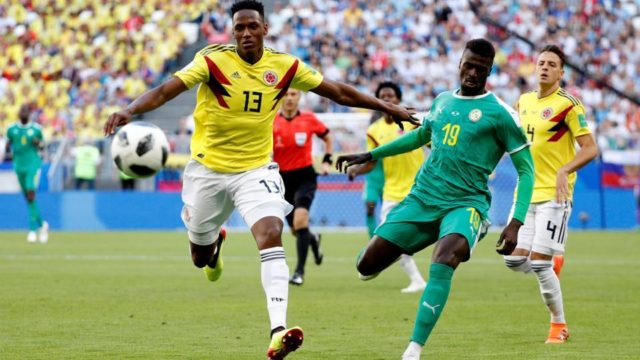 Colombia Sends Senegal out of the World Cup