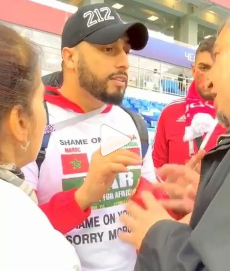 Moroccan Fan Arrested in Russia for Wearing 'Shame on You FIFA' T-Shirt