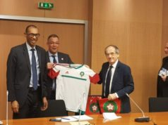 France Campaigns for Morocco 2026 in Moscow