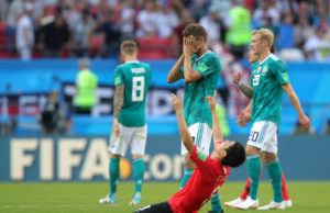 Germany out of World Cup in Group Stage, a First since 1938