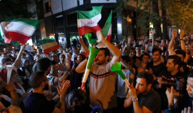Video: Tehran Celebrates All Night After Morocco-Iran Match