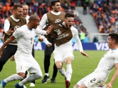 90th Minute Goal Gives Uruguay Victory over a Salah-deprived Egypt