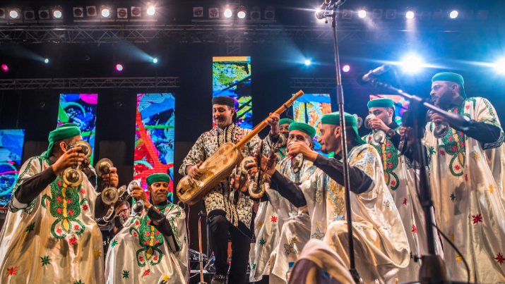 In Pictures, the 1st Day of the Colorful Gnaoua Festival in Essaouira