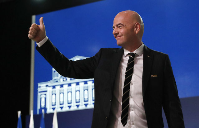 Gianni Infantino Set to Run for 2019 FIFA Re-Election