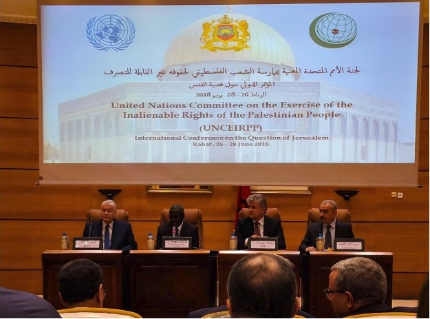 5th International Conference on Jerusalem Opens in Rabat