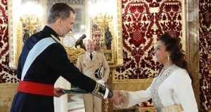 Moroccan Ambassador to Spain Presents Credentials to King Felipe VI