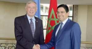 UN Personal Envoy to Western Sahara Meets El Othmani and Bourita