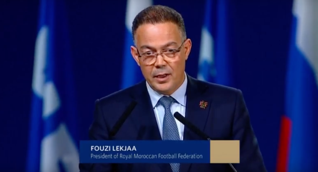 Morocco Will Never Give Up on its Dream to Host World Cup: Lekjaa