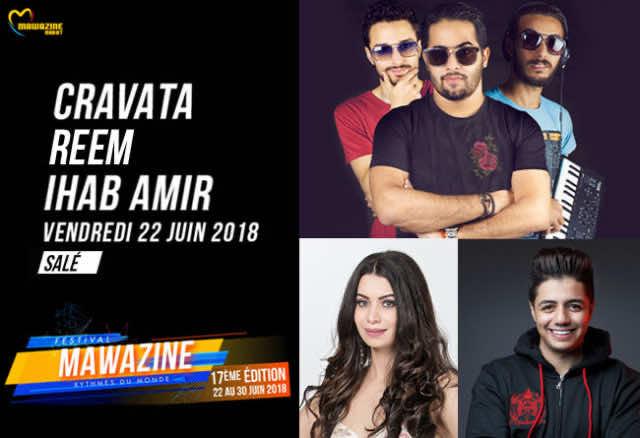 Mawazine 2018: Ihab Amir, Cravata, Reem Will Perform Friday Night