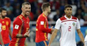 Morocco vs. Spain: Sergio Ramos Dissatisfied with Performance