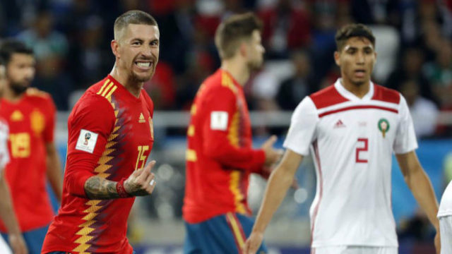 Morocco vs. Spain: Sergio Ramos Dissatisfied with Performance