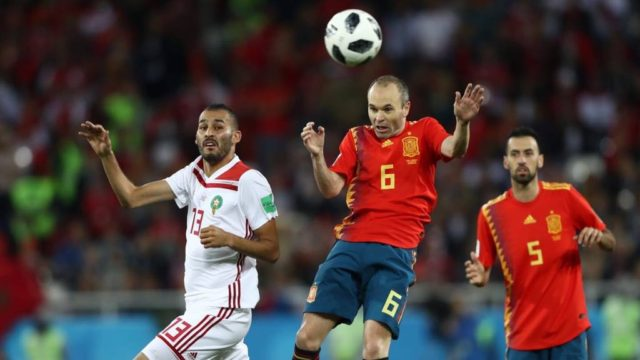 'Spain's Equalizer against Morocco Should Have Been Ruled Out:' Le Parisien