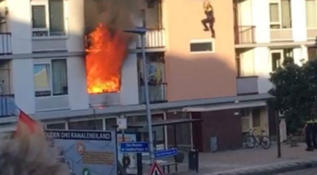 Moroccan Helps Rescue Victims from House Fire in Netherlands