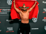 Morocco's MMA Champion Abu Azaitar Wins UFC Debut, Thanks King