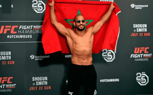 Morocco's MMA Champion Abu Azaitar Wins UFC Debut, Thanks King