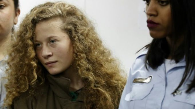 Israel to Release Palestinian Teenager Ahed Tamimi on Sunday