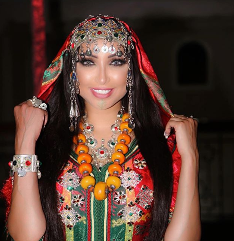 Dounia Batma Amazes Social Media with Amazigh Look