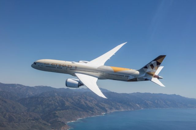 Etihad Airways to Operate Boeing 787 Dreamliner from Abu Dhabi to Rabat