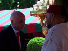Video: King Mohammed VI Receives FIFA's Gianni Infantino on Throne Day