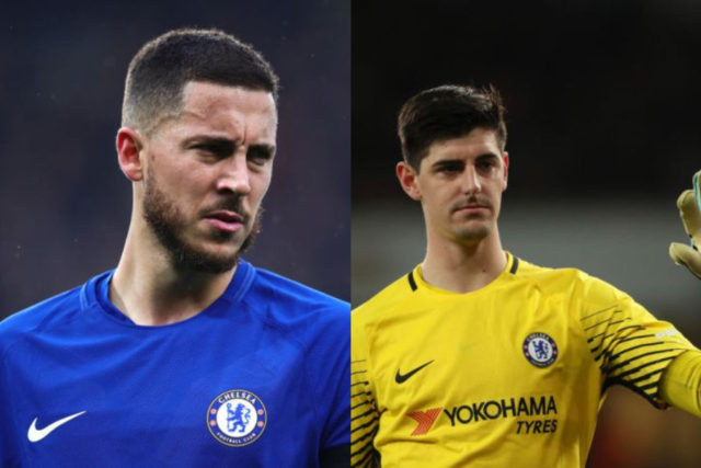 Real Madrid Offers €225 Million for Chelsea's Hazard and Courtois