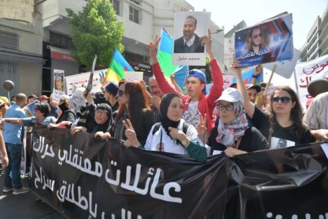 Thousands Rallied in Casablanca Demanding Release of Hirak Rif Activists