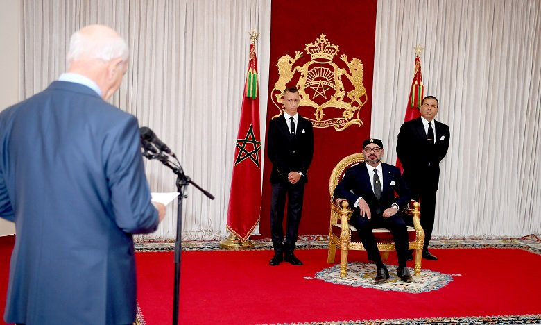 King Mohammed VI received Head of Auditors' Court Driss Jettou