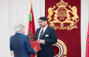 King Mohammed VI received on Sunday Governor of Bank Al Maghrib Abdellatif Jouahri and Head of Auditors' Court Driss Jettou, and both presented the monarch with their annual reports.