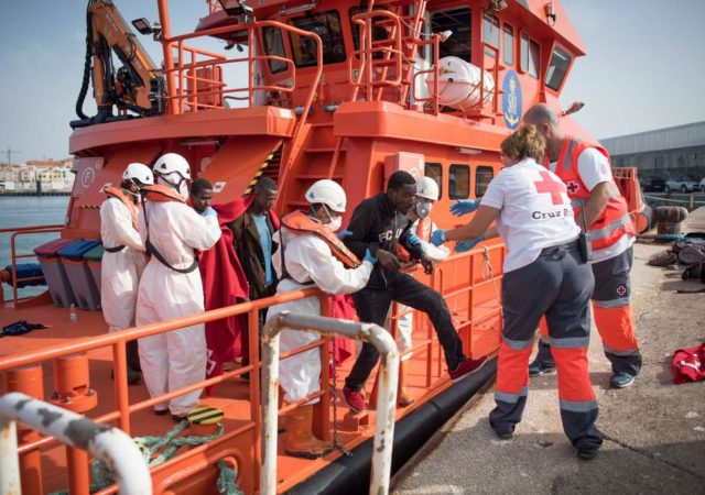 Red Cross Rescues 2 Moroccans in Ceuta After Attempt to Swim to Spain