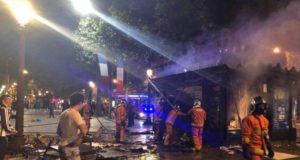 Violent Riots Break out in Paris after France's World Cup Win in Russia