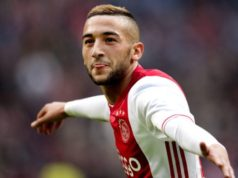 Hakim Ziyech Linked with Olympique Lyon, Not Sure to Leave Ajax