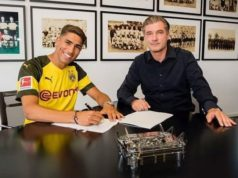 Real Madrid Sends Morocco's Achraf Hakimi to Borussia Dortmund on Loan