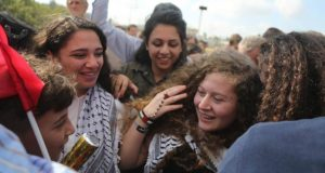 Joy in Palestine after Israel Released Teen Activist Ahed Tamimi Sunday