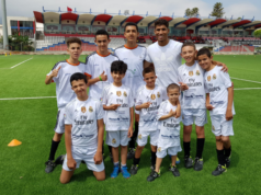 Achraf Hakimi Gives Football Lessons to Kids in Tetouan