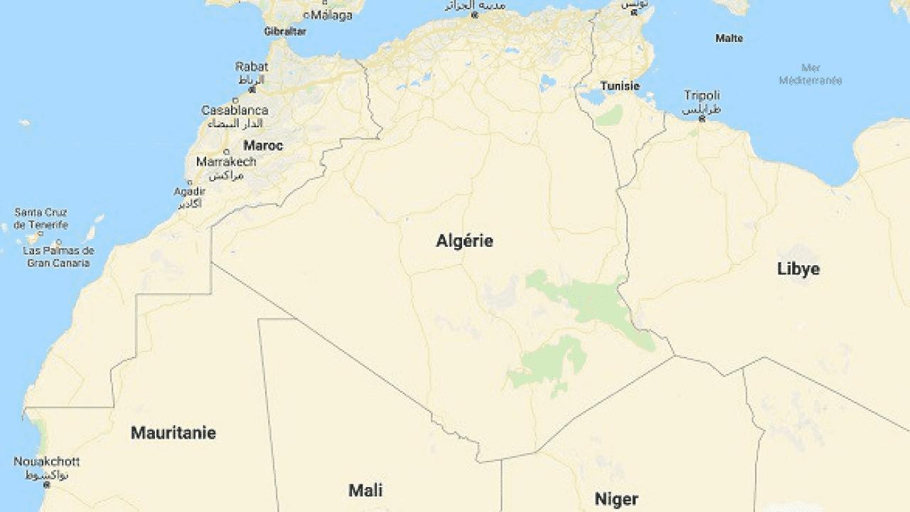 Google Map Removes Line Separating Western Sahara for ... on arabian peninsula map, sudan map, namib map, congo basin map, great rift valley map, atlas mountains map, mecca map, gobi map, lake tanganyika map, zambezi river map, zagros mountains map, red sea map, kalahari map, madagascar map, desert map, sahel map, cape of good hope map, taurus mountains map, atacama map, africa map,