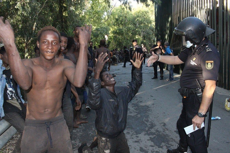 Migrants Storm Fences to Enter Spanish Enclave in Africa