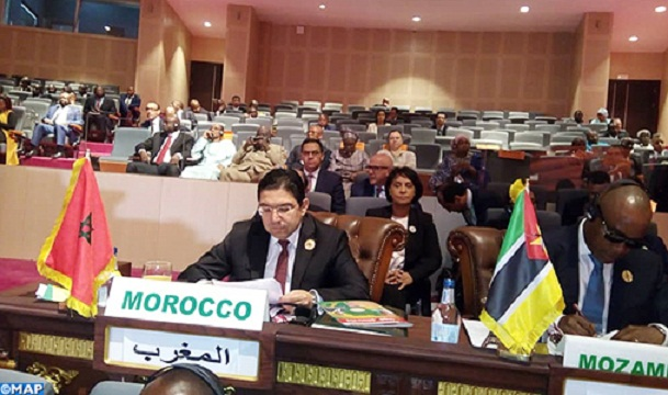 AU Accepts Morocco's Request to Join Consultative Group of Foreign Ministers