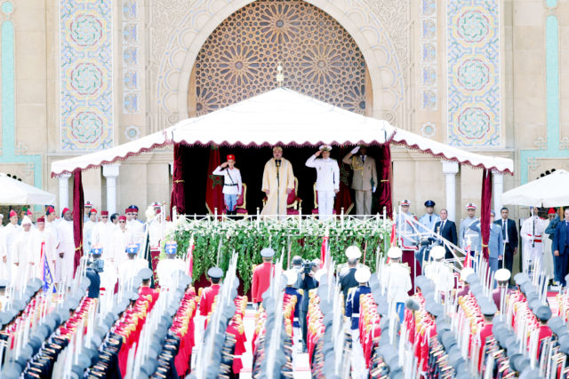 Throne Day: Officer Graduates to Take Oath in Morocco's Tetouan