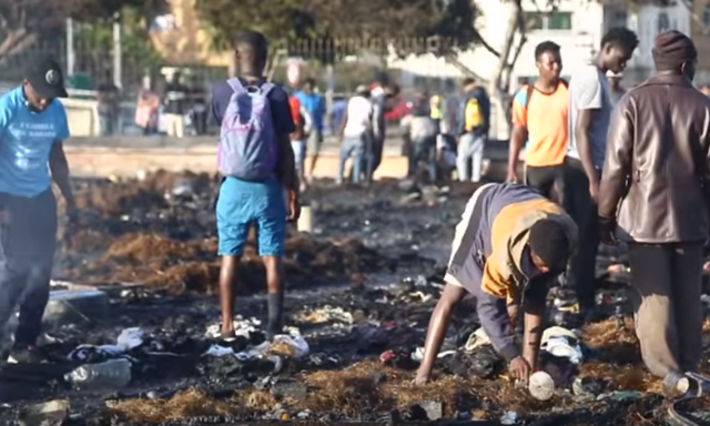 Sub-Saharan Migrants: Moroccan Hooligans Set Our Camps On Fire