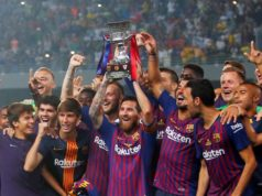 Spanish Super Cup: Barcelona Bests Sevilla 2:1 in Tangier