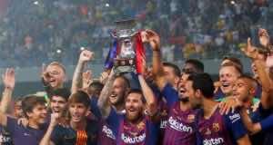 Spanish Super Cup: Barcelona Bests Sevilla 2:1 in Tangier