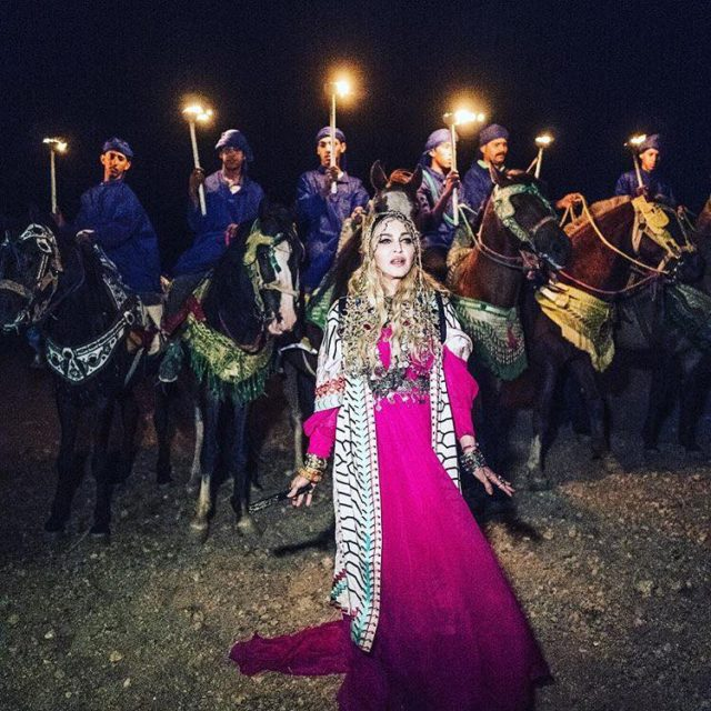 Madonna Is Already Nostalgic about Her Stay in Marrakech