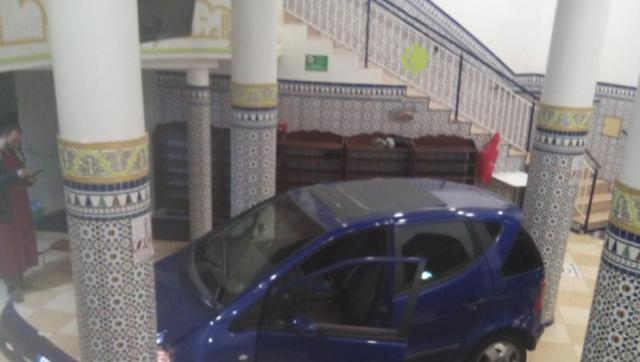 Driver 'Purposely' Crashes into a Mosque in France