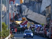 Death Toll of Bridge Collapse in Northern Italy Rises to 39