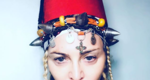 Madonna Wears Moroccan Amazigh Look for her 60th Birthday