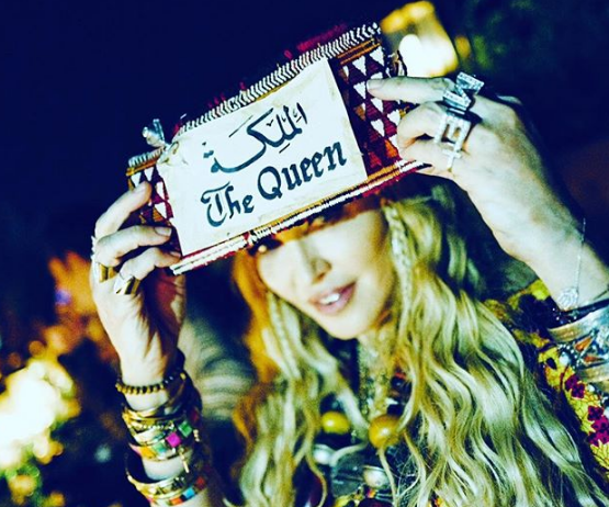 Madonna in Love with Marrakech, Calls Herself 'BerberQueen'