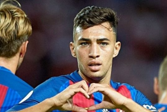 FC Barcelona Decides to Keep Moroccan Munir El Haddadi